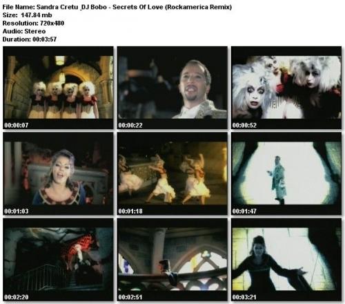 Sandra Cretu & DJ Bobo - Secrets Of Love (2006)