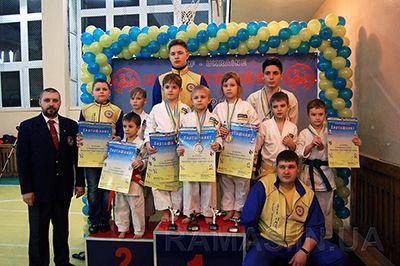 Кубок Украины по каратэ в Бердянске