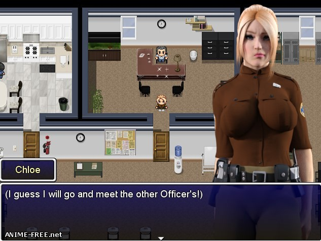 Officer Chloe: Operation Infiltration [2017] [Uncen] [RPG, 3DCG] [ENG] H-Game