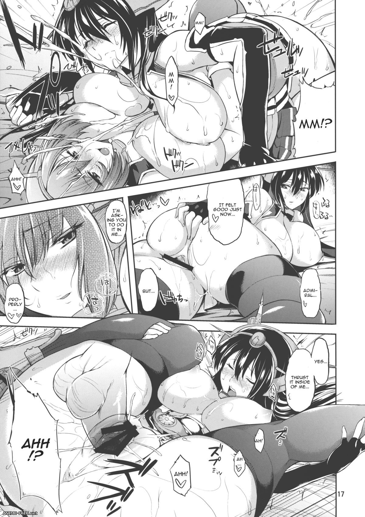 Kantai Collection Doujins Collection - сборник хентай манги [Cen] [ENG,JAP,CHI] Manga Hentai
