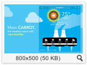 CARROT Weather - Talking Forecast Robot 1.3 (2016) Eng