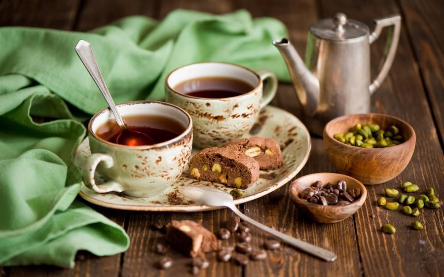 Чай и печенье