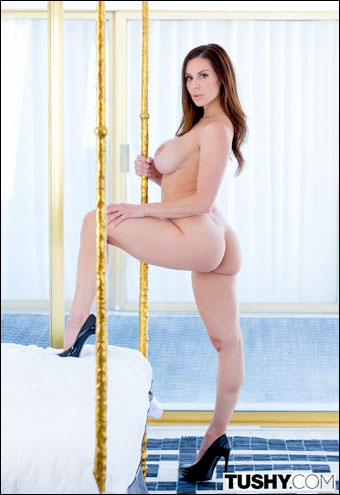 Kendra Lust - First Anal! / Miss Tushy (2015) SiteRip |
