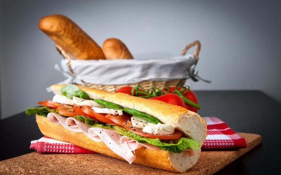 Багет и сендвич