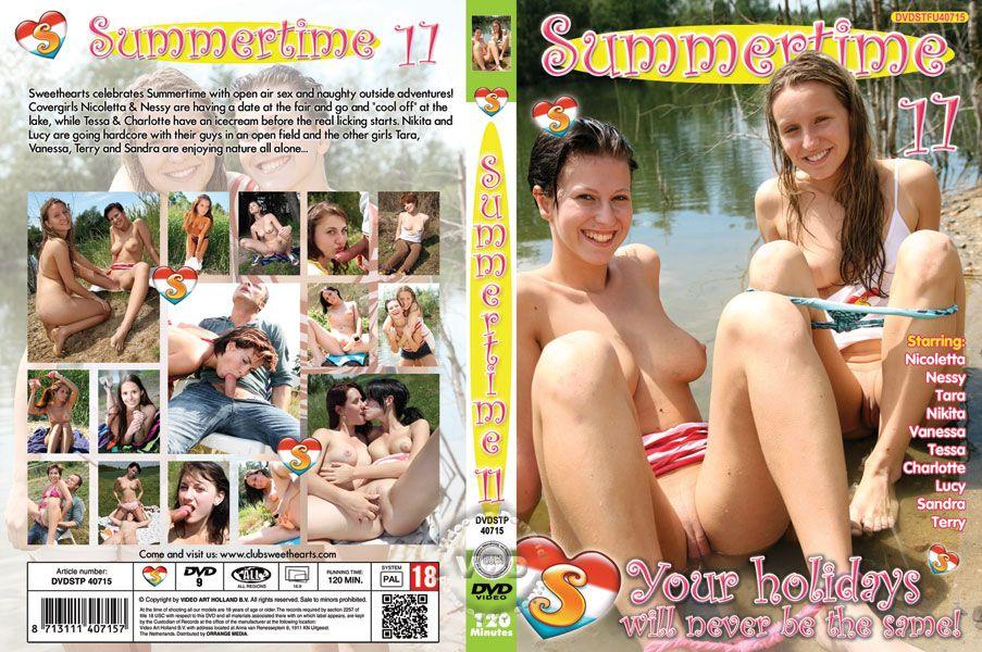 Summertime 11 / Летнее Времечко 11 (Неизвестен, Seventeen Productions) [2014 г., Legal Teen, Foreign, Beach/Wet, Public Sex, HDRip, 1080p]