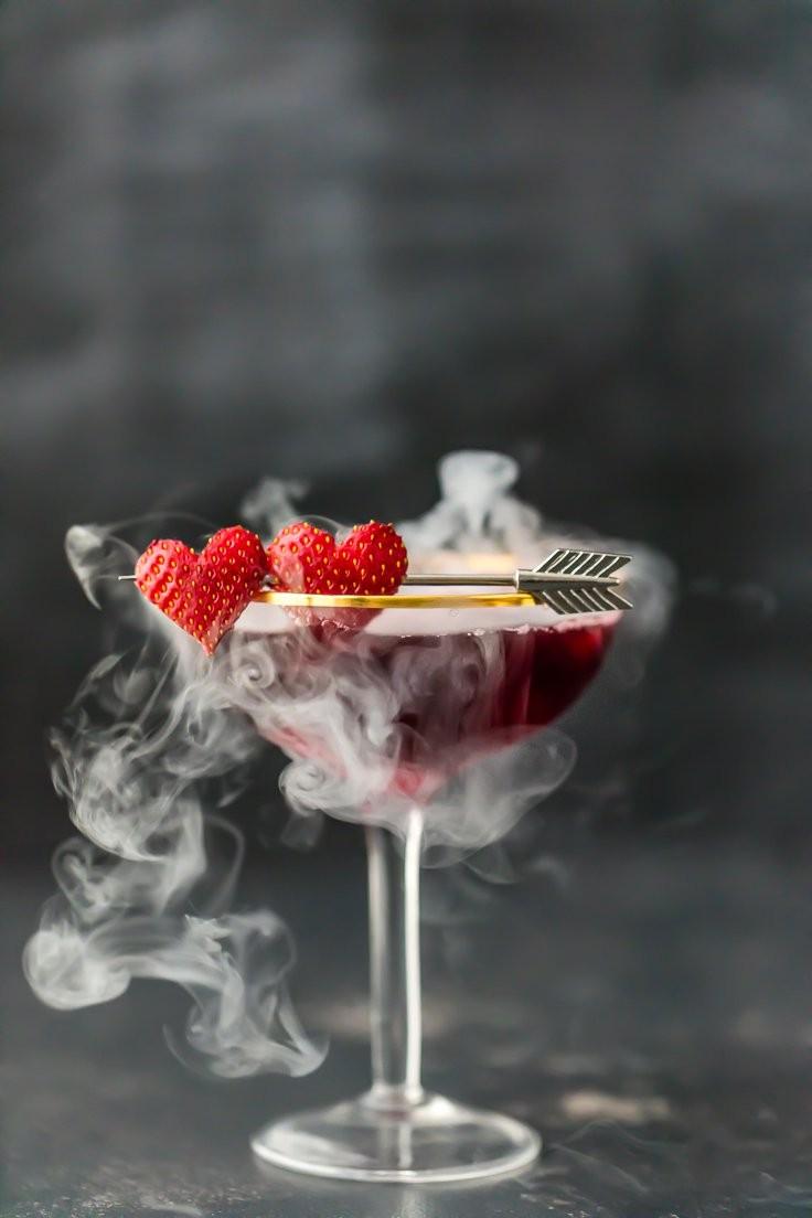 Коктейль с дымком