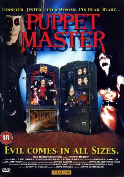 Повелитель кукол / Puppetmaster (1989) BDRip [H.264]