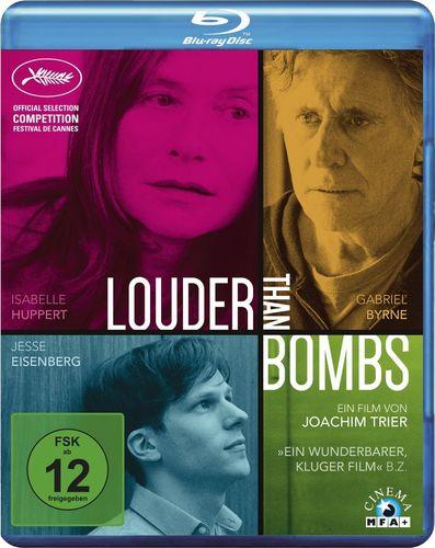 Громче, чем бомбы / Louder Than Bombs (2015) BDRip [H.264 / 720p] [EN]