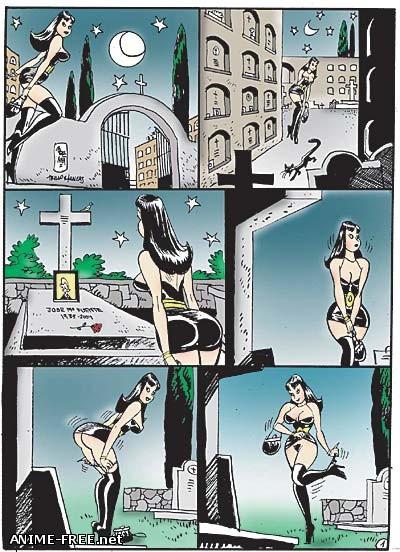 Jordi Bernet - Сборник комиксов [Uncen] [ENG,SPA] Porn Comics