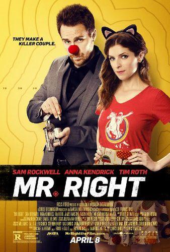 Мой парень – киллер / Mr. Right (2015) BDRip [H.264 / 1080p] [EN / EN Sub]