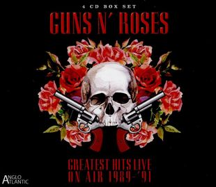 Guns N' Roses - Greatest Hits Live-in Concert on Air 1989-1991 [4CD] (2016)