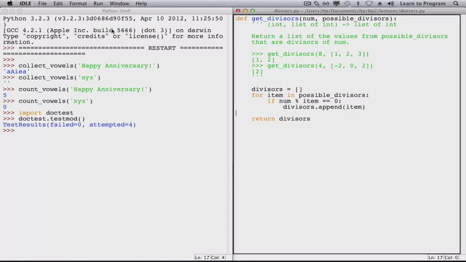 Coursera Learn To Program Crafting Quality Code