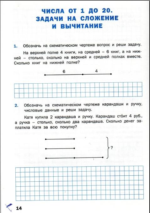 Гдз 4 класс математический тренажер текстовые задачи