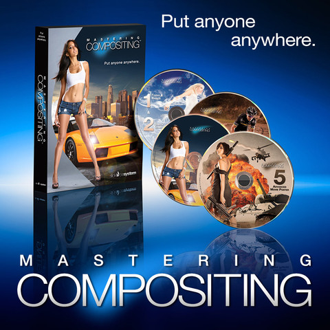 Slick Force - Mastering Compositing - 5 Levels 2016 TUTORiAL