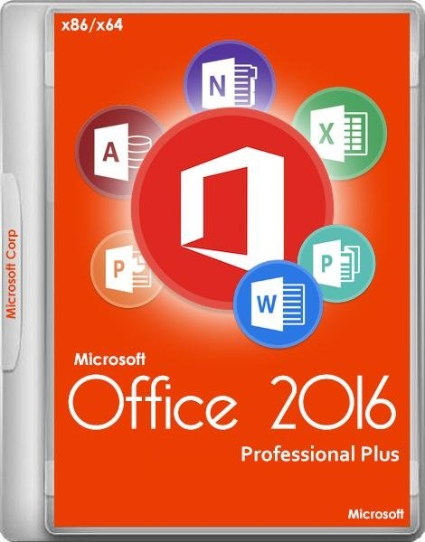 Microsoft Office 2016 Professional Plus 16.0.4405.1000 Repack Diakov [Multi/Ru]