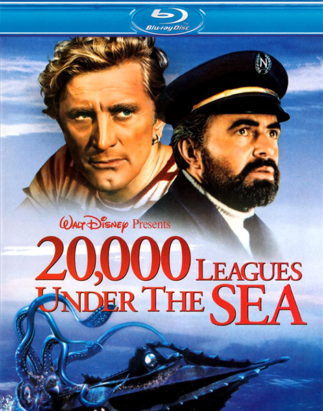 20000 лье под водой / 20,000 Leagues Under the Sea (1954) BDRip 720p | P