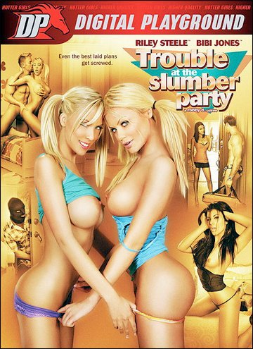Digital Playground - Неприятности на девичнике / Trouble At The Slumber Party (2012) DVDRip