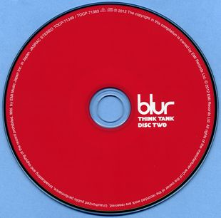 Blur - Think Tank (2003) [2CD Special Japanese Edition 2012]