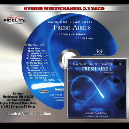 Mannheim Steamroller - Fresh Aire 8 (2000/2016) [DTS 5.1 CD-DA|44.1/16|image+cue|SACD] < Electronic, New Age >