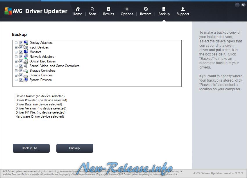 AVG Driver Updater 2.2.3 Final