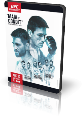 MMA. UFC on FOX 21: Maia vs. Condit + Main Card [27.08] (2016) HDTV 1080i