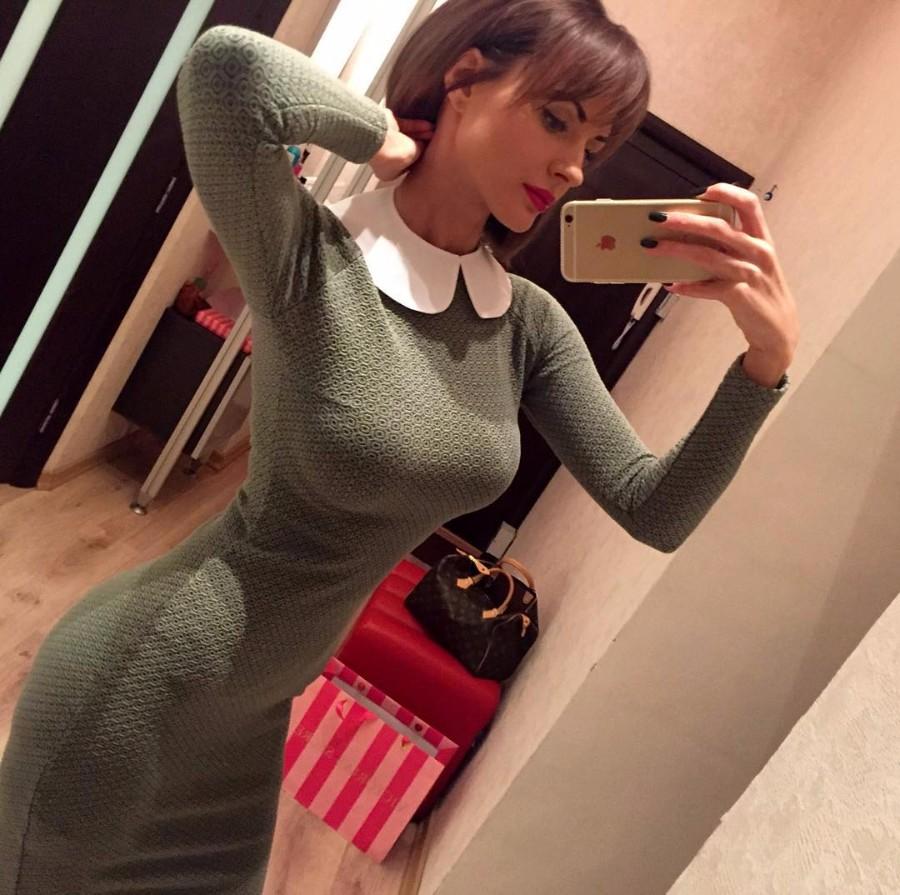 Сэлфи в платье