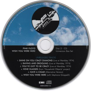 Pink Floyd - Wish You Were Here - Immersion Edition [2CD] (2011)