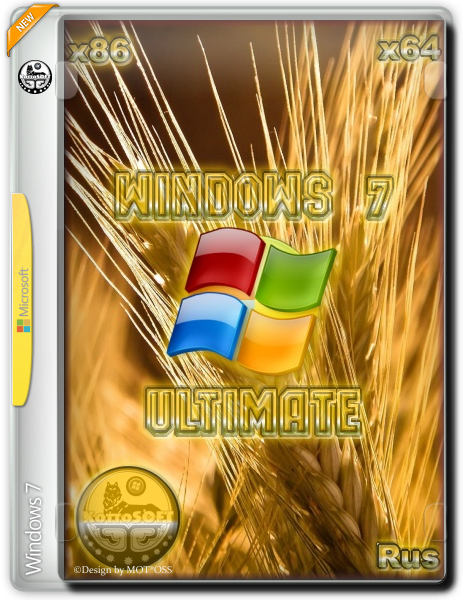 Windows 7 SP1 Ultimate KottoSOFT(x86x64) [v.45] [Ru] [2016]