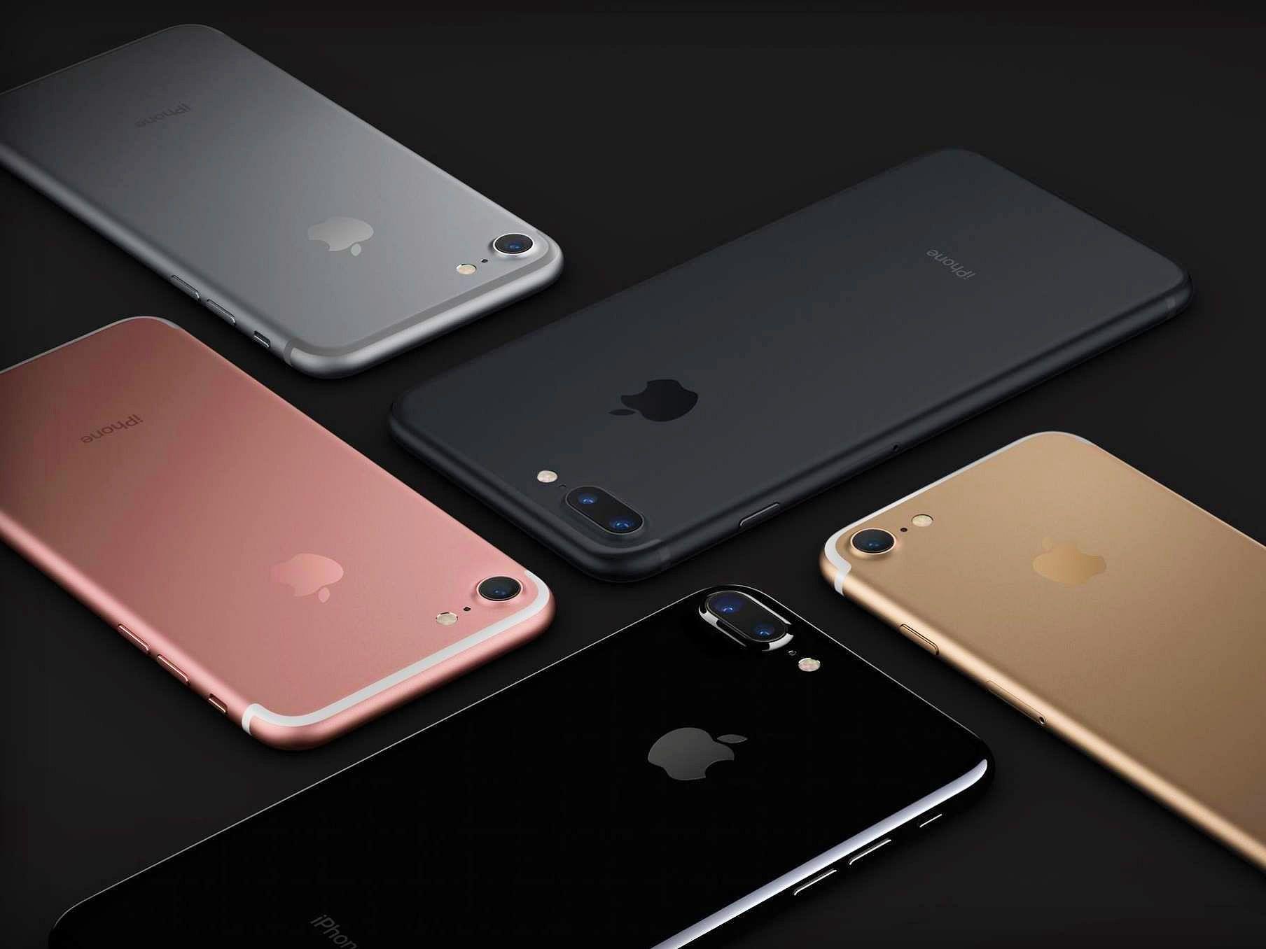 айфон 7 цвета корпуса фото