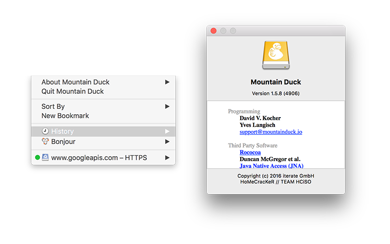 Mountain Duck 1.5.8.4906 (2016) Английский