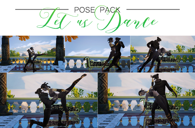 Let us Dance POSE PACK by Solistair