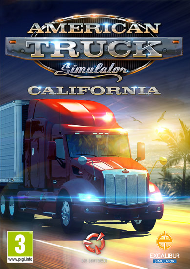 American Truck Simulator [v 1.30.0.1s + 16 DLC] (2016) PC | RePack от xatab