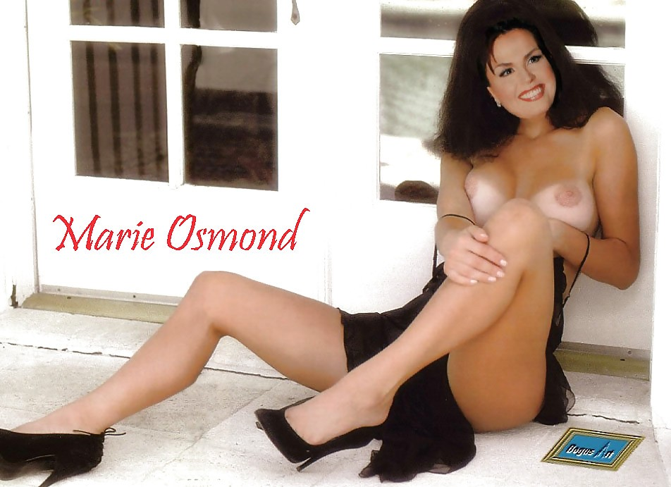 Pic of marie osmond pussy
