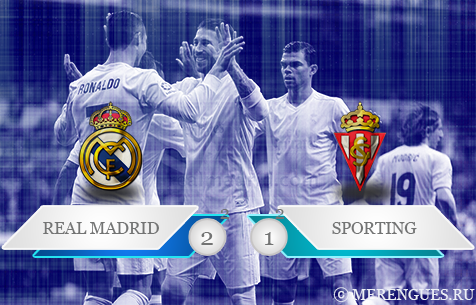 Real Madrid C.F. - Sporting de Gijon 2:1