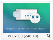 NetSpot Wi-Fi Reporter 2.1.475 (473) (2016) Eng