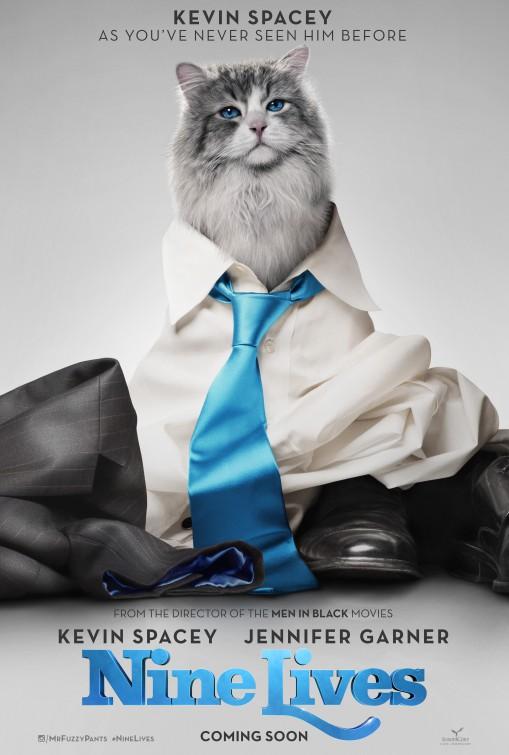 Jak zostać kotem / Nine Lives (2016)  PL.DUB.BRRip.XViD-MORS / Dubbing PL