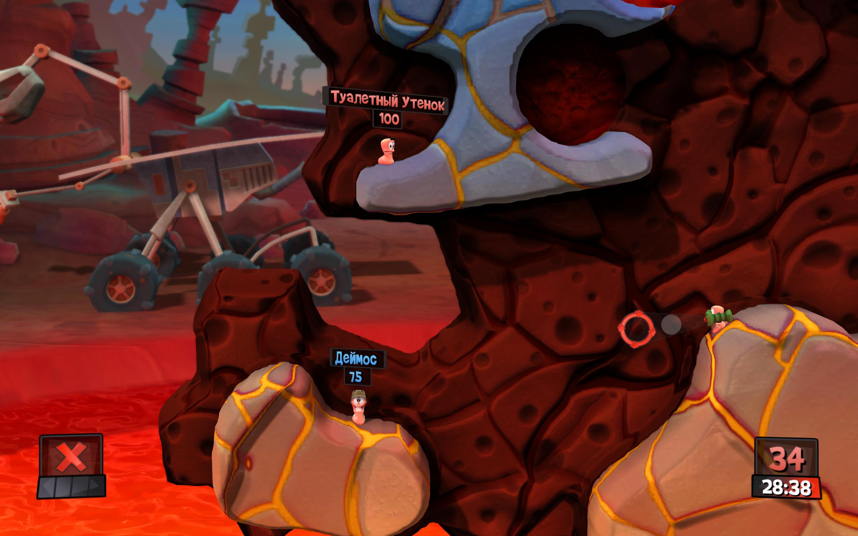 Скриншот к Worms Revolution - Gold Edition (2012) PC | RePack by Mizantrop1337