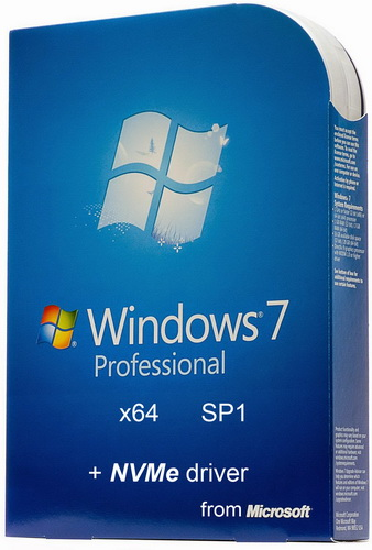 Windows 7 Professional with SP1 + NVMe driver by Saasha (x64) (2016) Rus