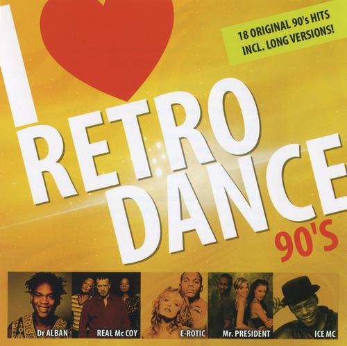 VA - I Love Retro Dance 90's (2010) [FLAC|Lossless|tracks + .cue] <Eurodance>