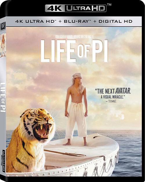 Жизнь Пи / Life of Pi (2012)  UltraHD, Blu-ray, HDR, 4к, 2160р | D + AVO