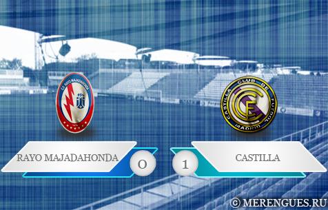 CF Rayo Majadahonda - Real Madrid Castilla 0:1