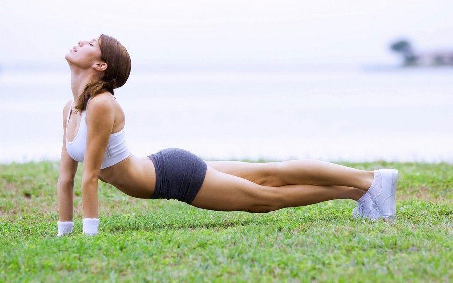 Занятие спортом на свежем воздухе