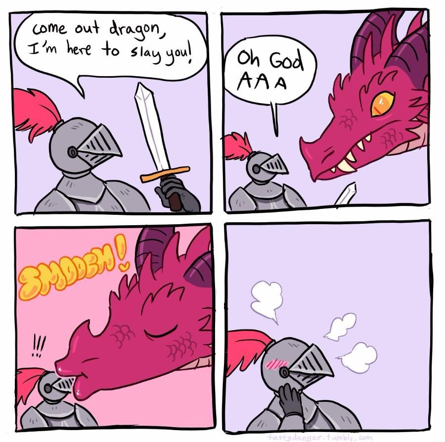 Злой дракон