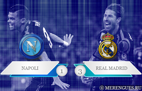 S.S.C. Napoli - Real Madrid C.F. 1:3