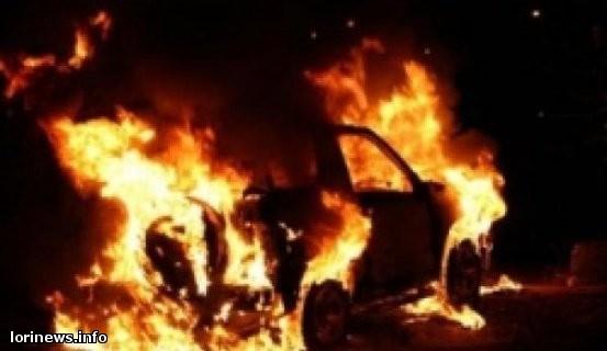 Խոշոր հրդեհ Վանաձորում. «Գանձակ» սուպերմարկետի մենեջերի BMW-ն վերածվել է մոխրակույտի