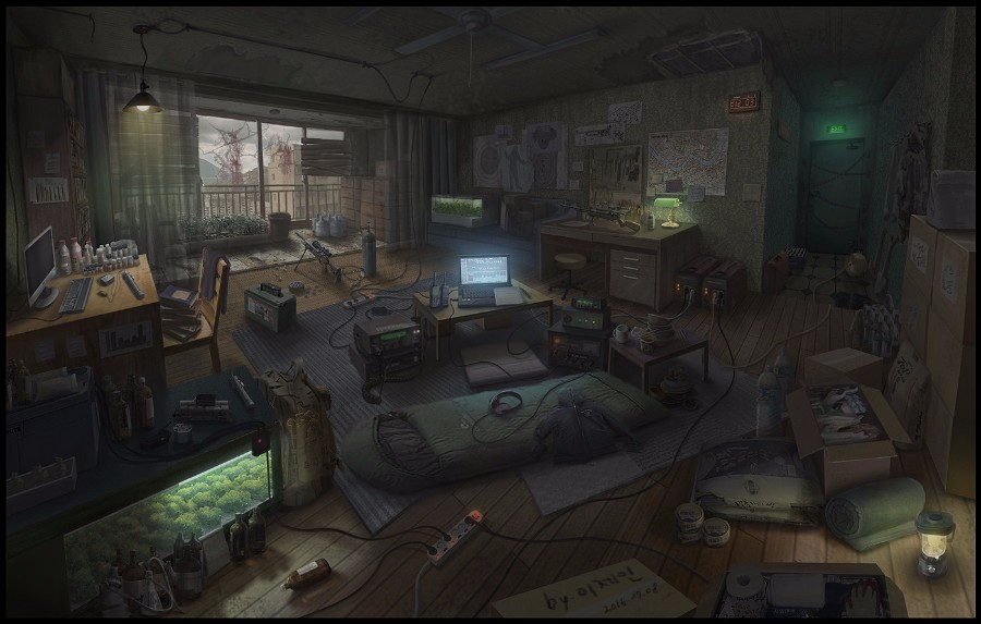 Рабочая комната