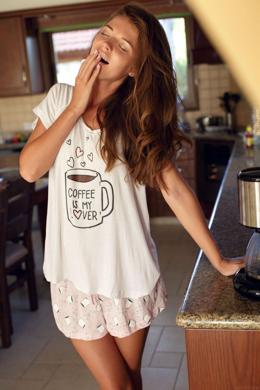 Кофейная маечка