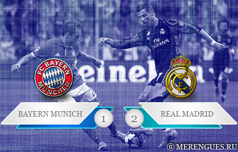 FC Bayern Munchen - Real Madrid C.F. 1:2