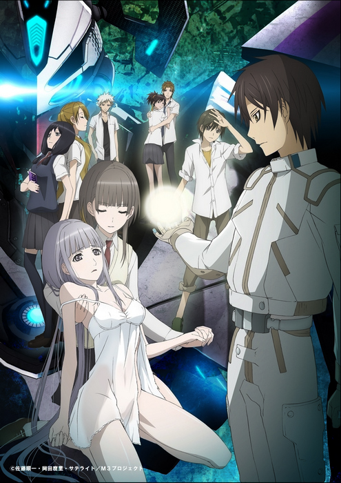 M3: Чёрная сталь / M3: Sono Kuroki Hagane / M3: Sono Kuroki Tetsu / М3: Эта чёрная сталь (Сато Дзюнъити) [TV] [24 из 24] [Без хардсаба] [Rus(ext), JAP+SUB] [2014, экшен, драма, меха, детектив, психология, BDRip] [1080p]