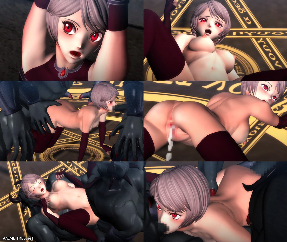 The Gangbang of Dia, Fallen Princess Knight (#1 and #2) [2015-2016] [Cen] [720p] [JAP] 3D-Hentai
